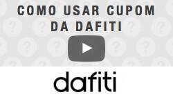 Veja como utilizar cupom de desconto da Dafiti